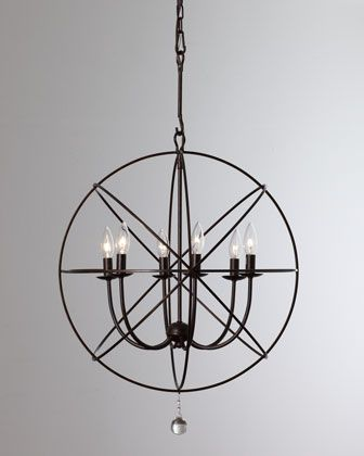 Black orb chandelier horchow lighting pinterest orb chandelier black orb chandelier horchow mozeypictures Choice Image