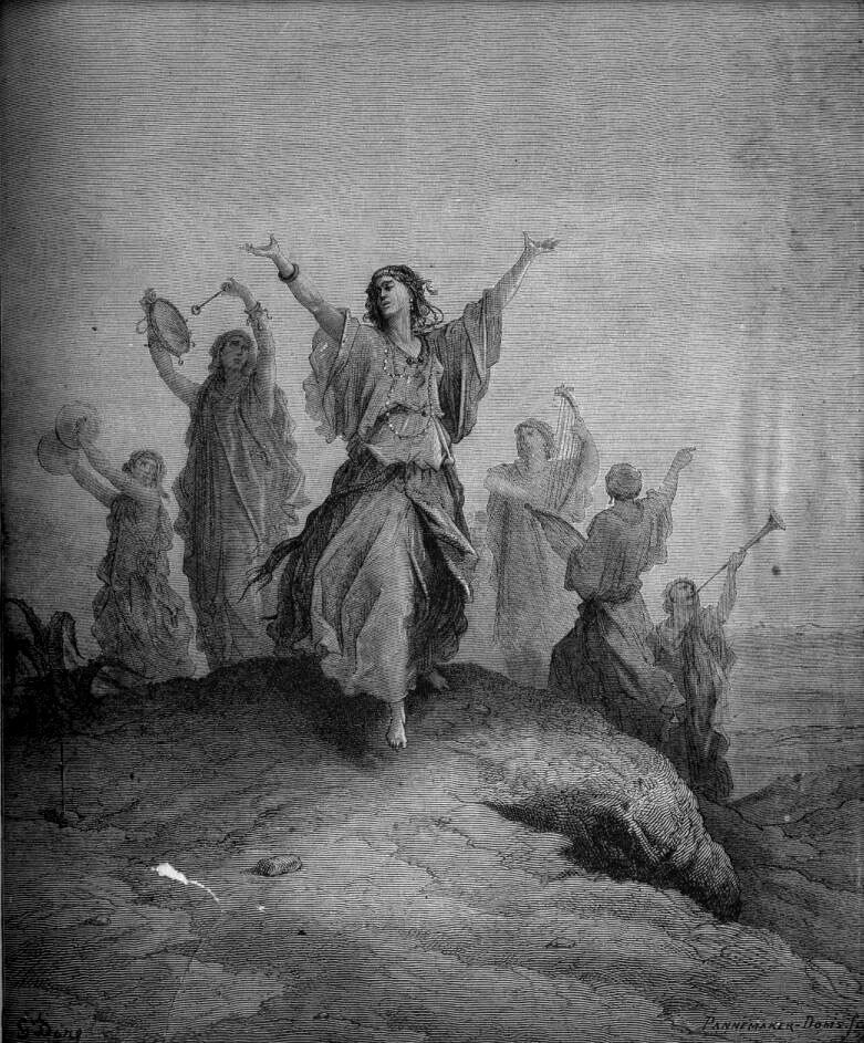Gustave Dore The Dore Gallery Of Bible Illustrations By Gustave