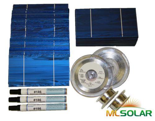 1kw Whole 3x6 Solar Cells Diy Kit Tab Wire Bus Flux Best Solar Panels Solar Cell Solar