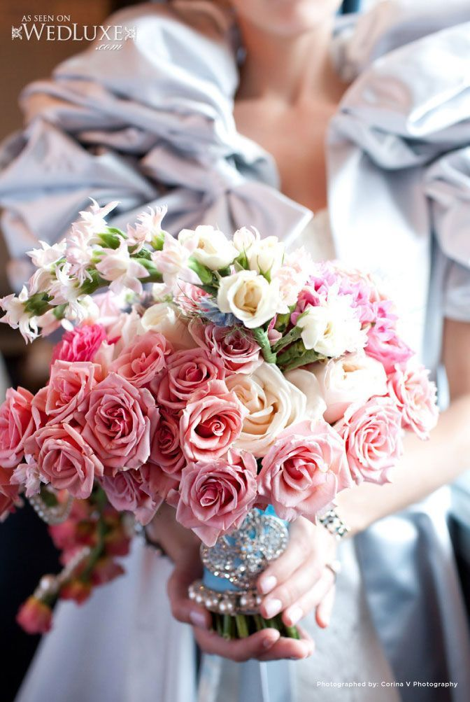 Beautiful and opulent bridal bouquet <3