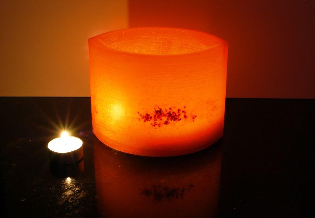 wax lamp -fanal de cera