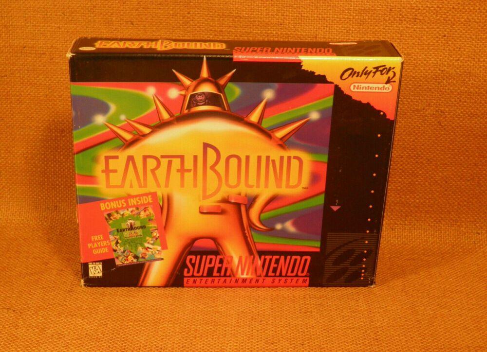 Earthbound SNES Box Only Super Nintendo Mother 2 Original
