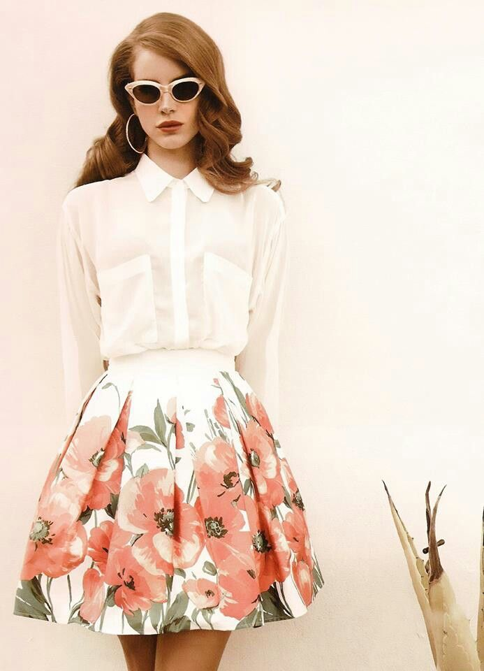 Lana Del Rey Iconic Cool Fashion