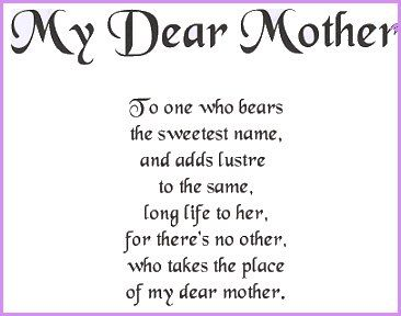 Motherly Poems 7