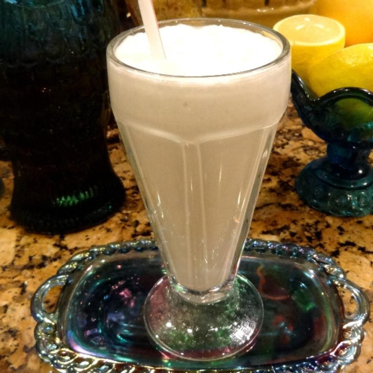 This thick and creamy milkshake is great for your  low-carb or gluten-free diet. I don't even miss ice cream anymore! I make it in my little Magic Bullet smoothie maker.  What a neat machine that is.  It makes the greatest milkshakes and comes with an attachment to grind nuts