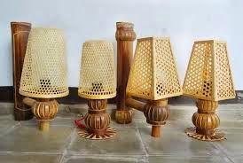 Lampu Dari Bambu Bambu Kreatif Kerajinan Tangan