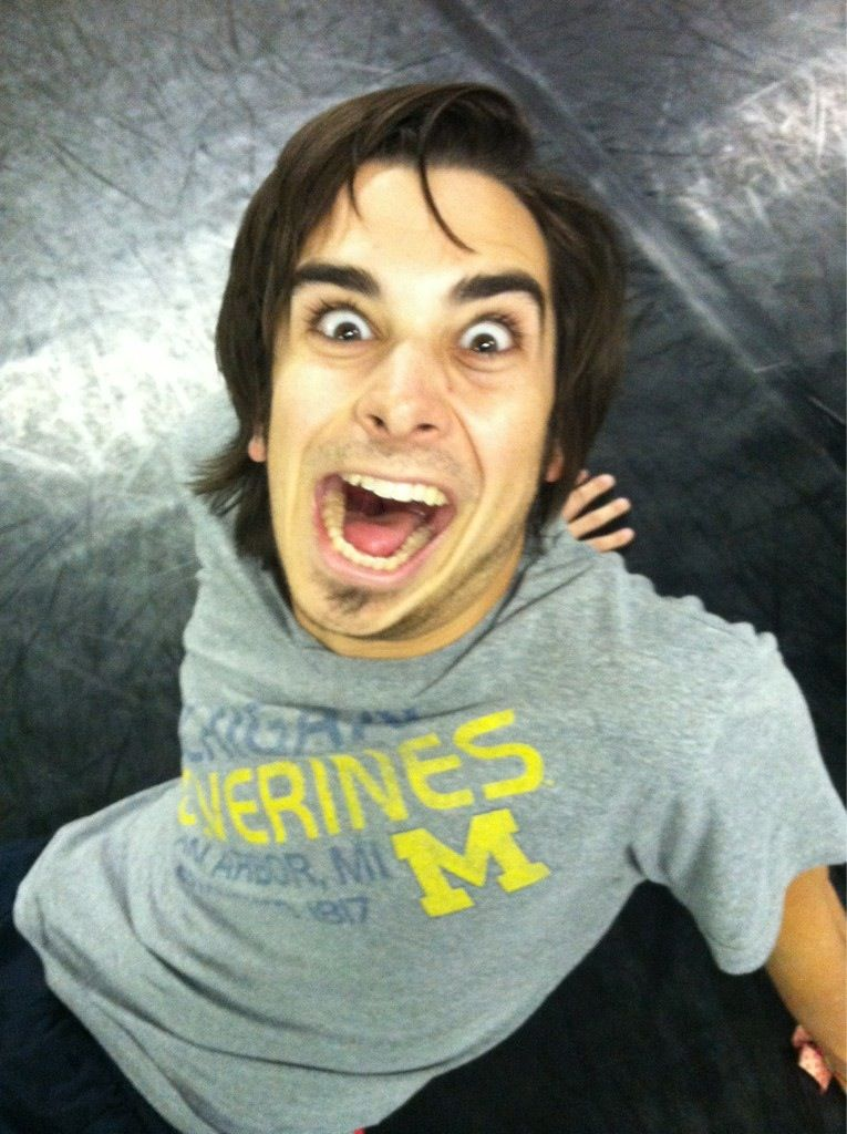 Joey Richter and his beautiful lopsided jaw, lol Starkid