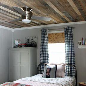 Ceilings   Wood furniture living room, Rustic wood wall ...
