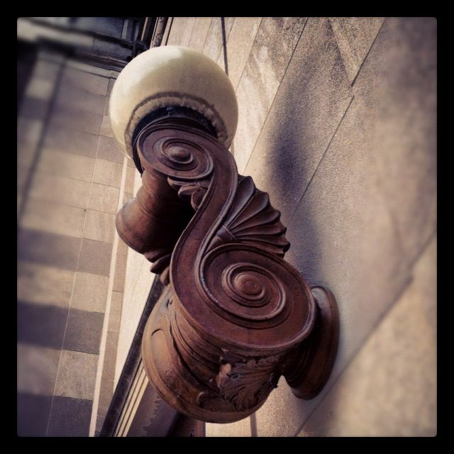 Bronze Sconce, 1925  © @livethefinelife 2012