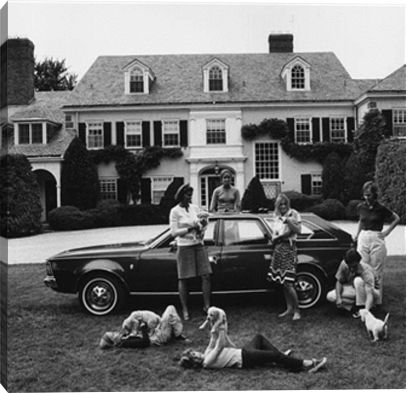 Chapin Family print by Slim Aarons at Photos.com 3095074