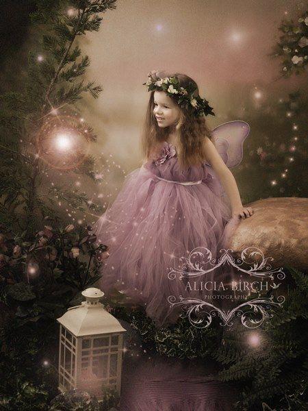 Enchanted Garden Fairy Portraits By Alicia Birch