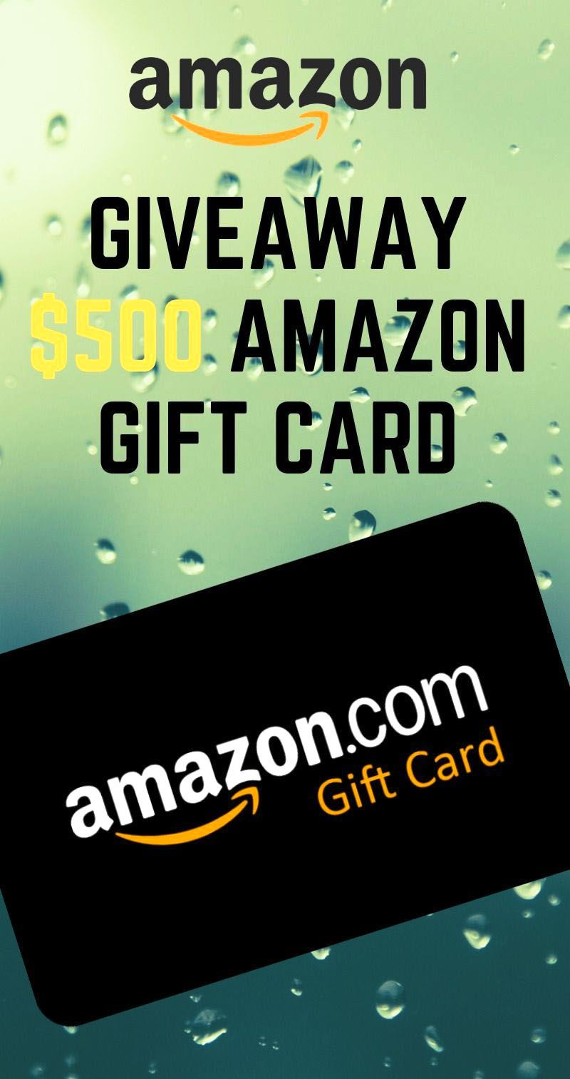 Get a 500 amazon gift card completely free free