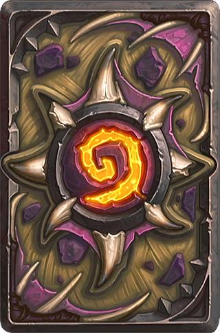 Card Back: Nefarian Artist: Blizzard Entertainment