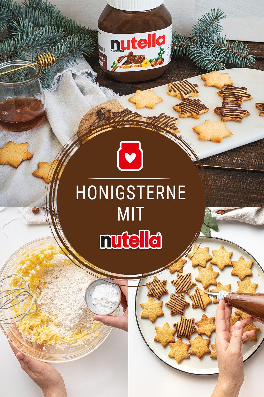 Photo of Honigsterne mit nutella