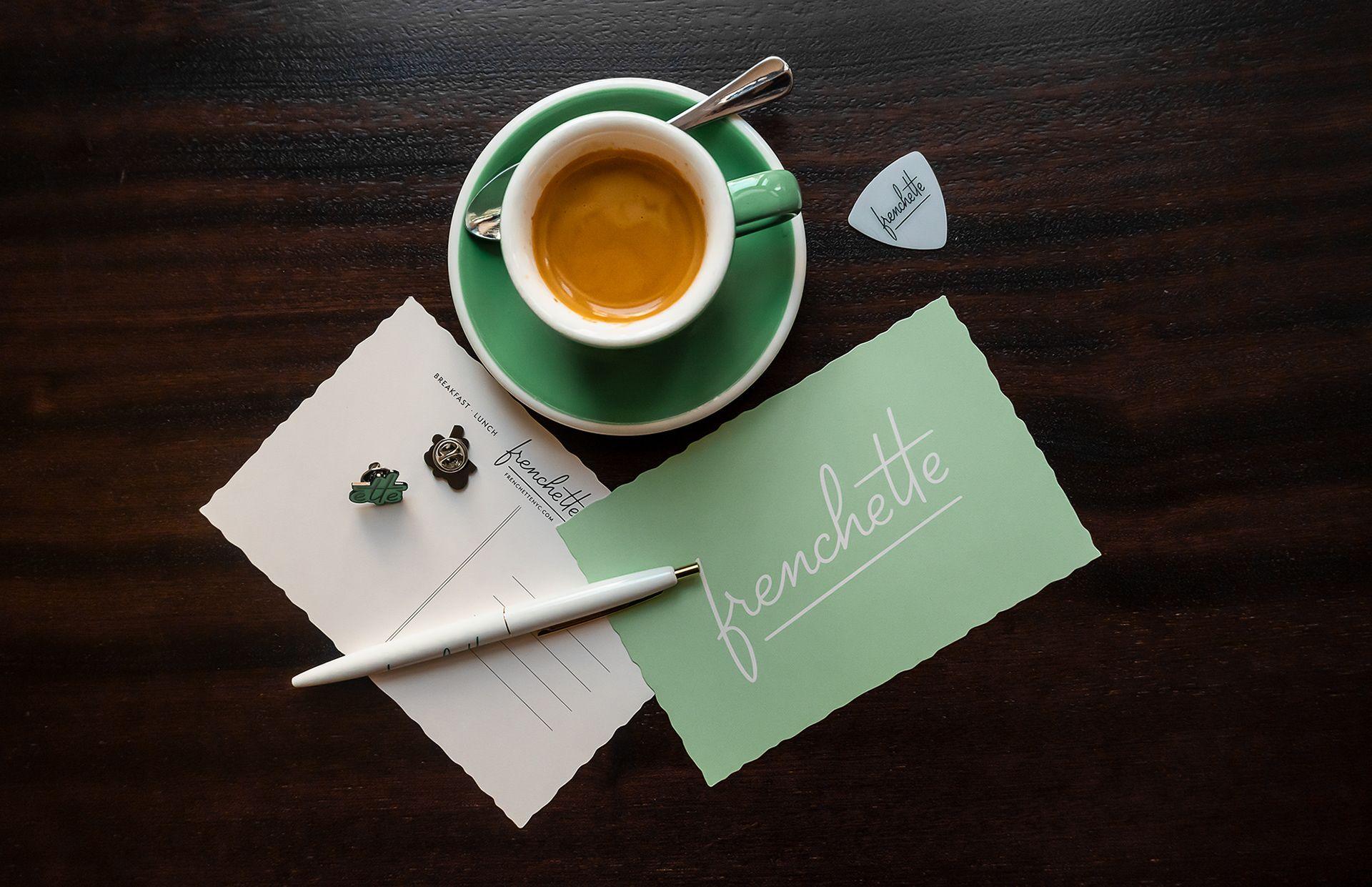 Frenchette on Behance Restaurant branding, Brand