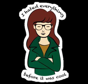 Daria Stickers Tumblr