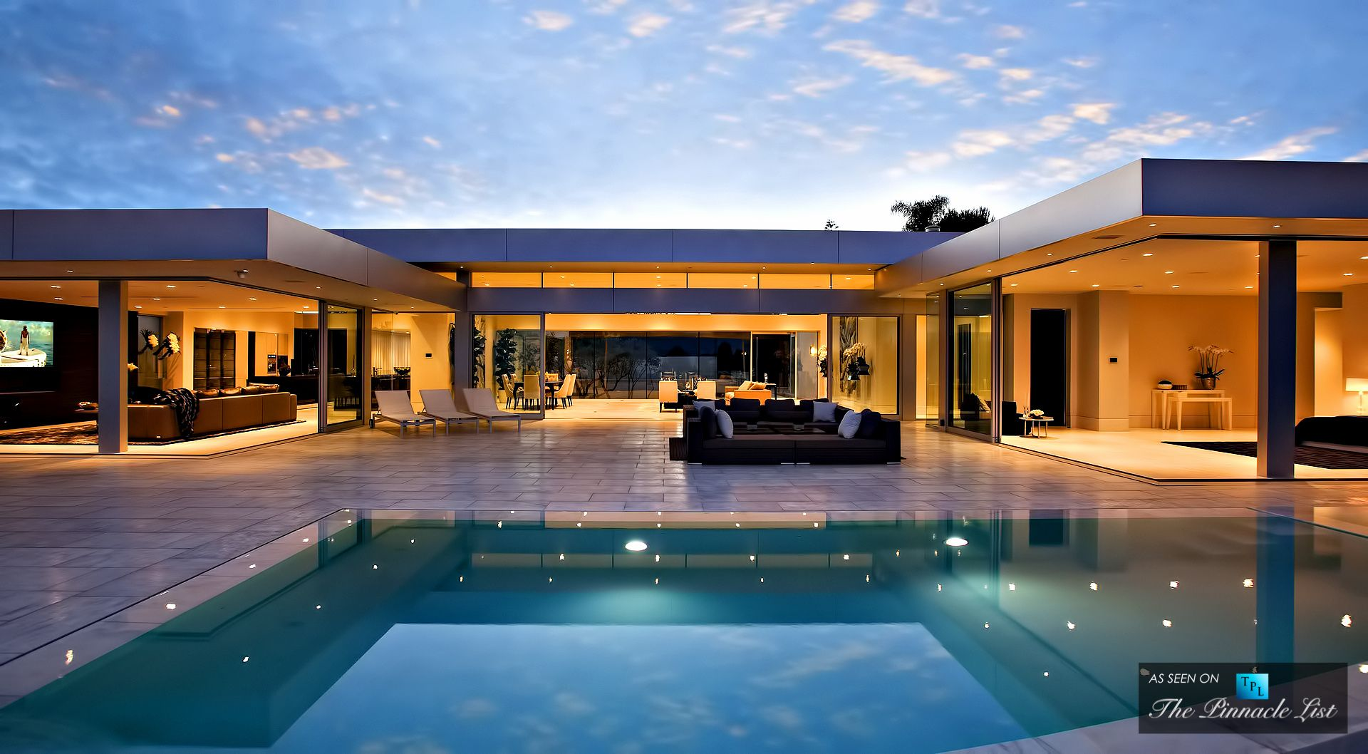 Extraordinary Impeccable Beverly Hills Contemporary Modern Luxury Residence  (by McClean Design)