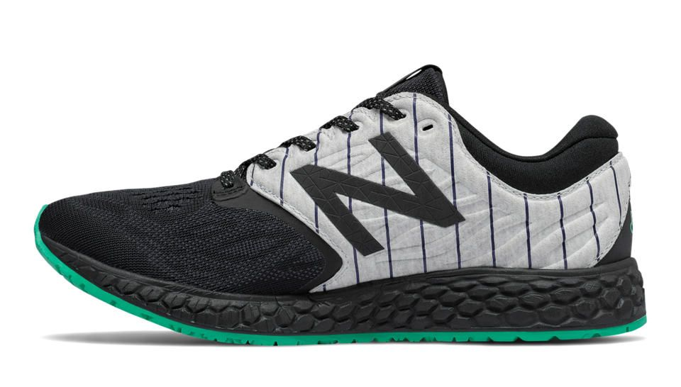 Fresh Foam Zante v3 Bronx, Black with Deep Jade | NB Product