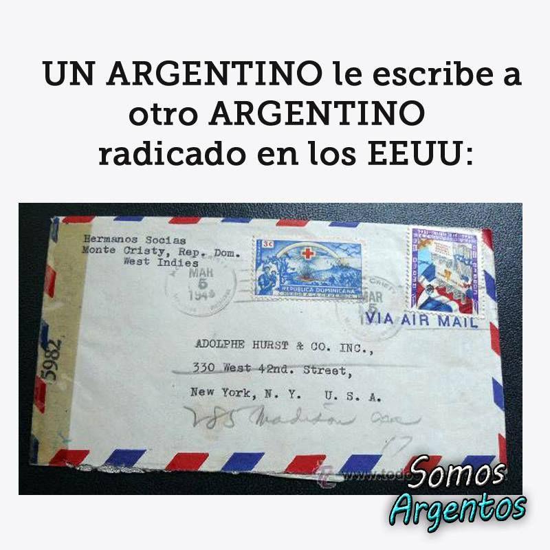UN ARGENTINO le escribe a otro ARGENTINO radicado ..., ver y leer en anibalfuente.blogspot.com.ar