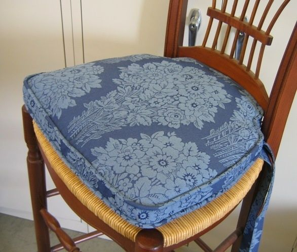 French Country Kitchen Chair Pads Photo   5