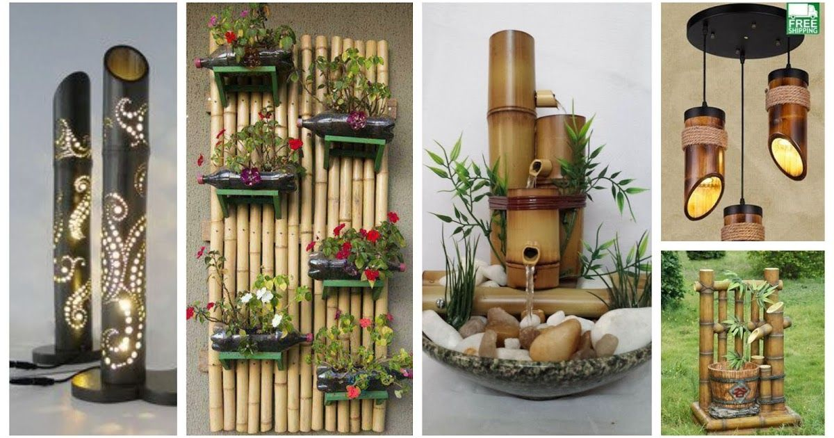 16 Ideas Para Decorar Con Palos De Bambú Secos Decoracion Con Bambu Ideas De Bambú Cañas De Bambu Decoracion