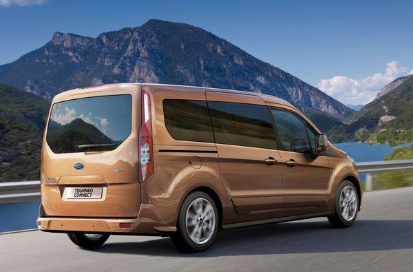 Plaats Voor Zeven Ford Grand Tourneo Connect Ford Plaatsen