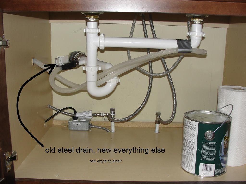 Mobile Home Bathroom Sink Plumbing Trailer Remodel
