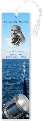 obituary bookmarks