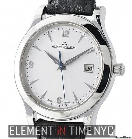 Jaeger-LeCoultre Master ControlDate Stainless Steel 40mm Silver Dial Reference…