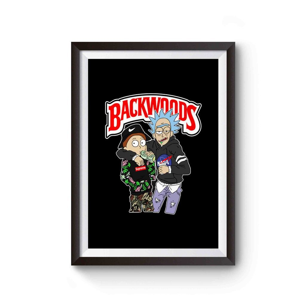 Rick And Morty Backwoods Poster Rick And Morty Backwoods Poster