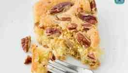 Simple Southern Pecan Pie Bars with Shortbread Crust | The land cook   - Desserts -
