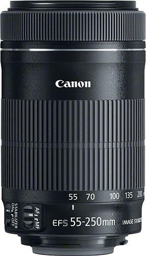 Canon EF-S 55-250mm f//4-5.6 IS STM Lente Zoom Telefoto