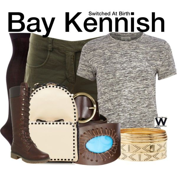 Inspired by Vanessa Marano as Bay Kennish on Switched At Birth.