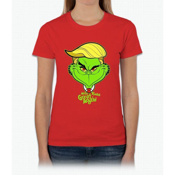 Make Xmas Great Again!!! Womens T-Shirt