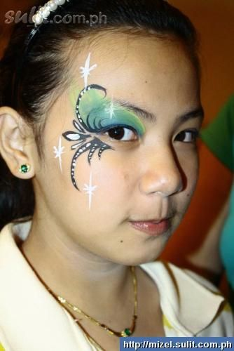 Eye art for face painting