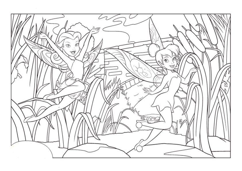 feen  malvorlagen ausmalbilder  fairy coloring pages