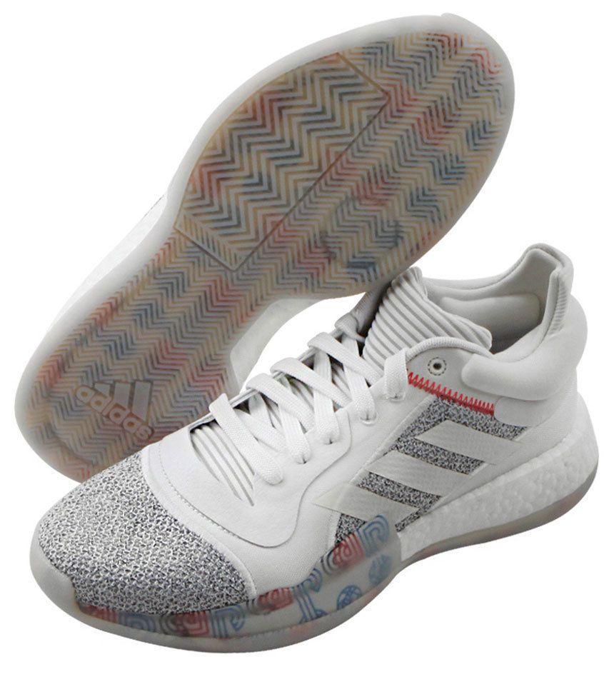 f38bbda6254 adidas Marquee Boost Low Men s Basketball Shoes NBA Casual White Sports  G27745  adidas  BasketballShoes
