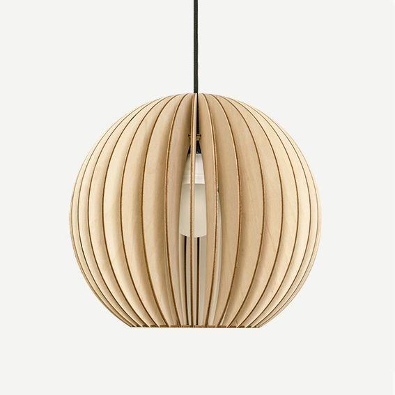 Original Handmade custom Lighting /'STD Quarterium Pendant/' Colour Sustainable Eco Wooden Pendant light