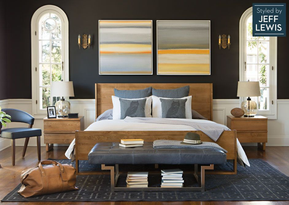 Jeff Lewis Furniture #50 - Living Spaces: Naturally Beautiful Styled By Jeff Lewis - Color Scheme,  Grey And Brown