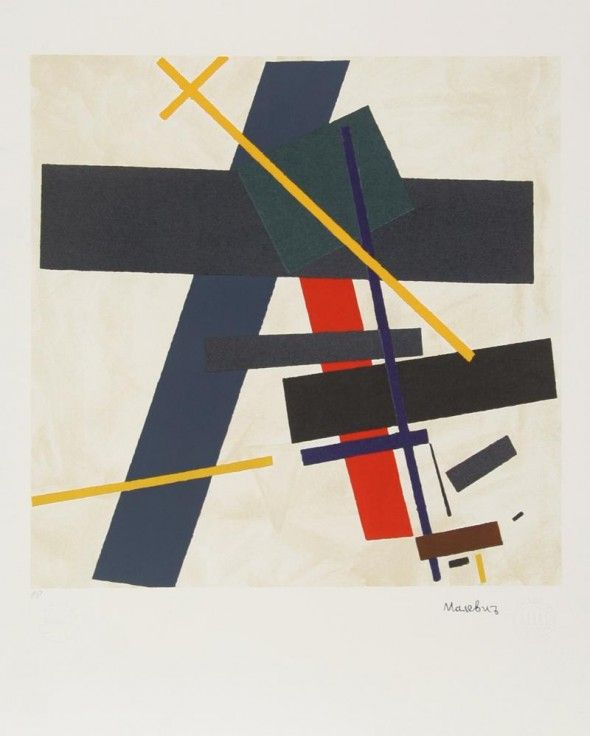 Resultado de imagen para kazimir malevich obras abstractas