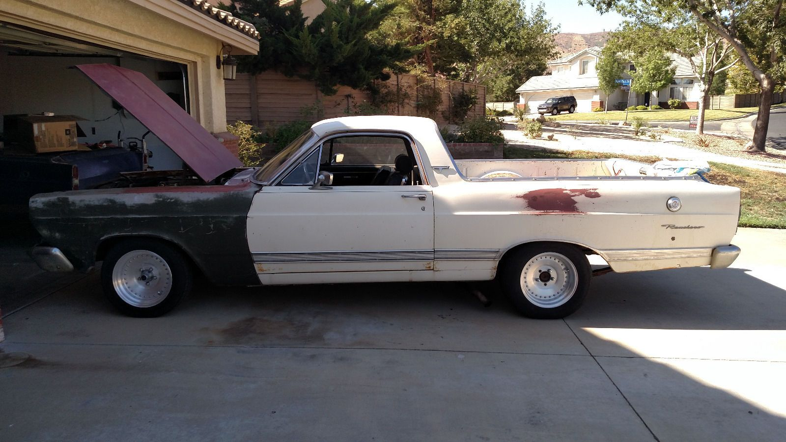 1967 ford ranchero project car for sale