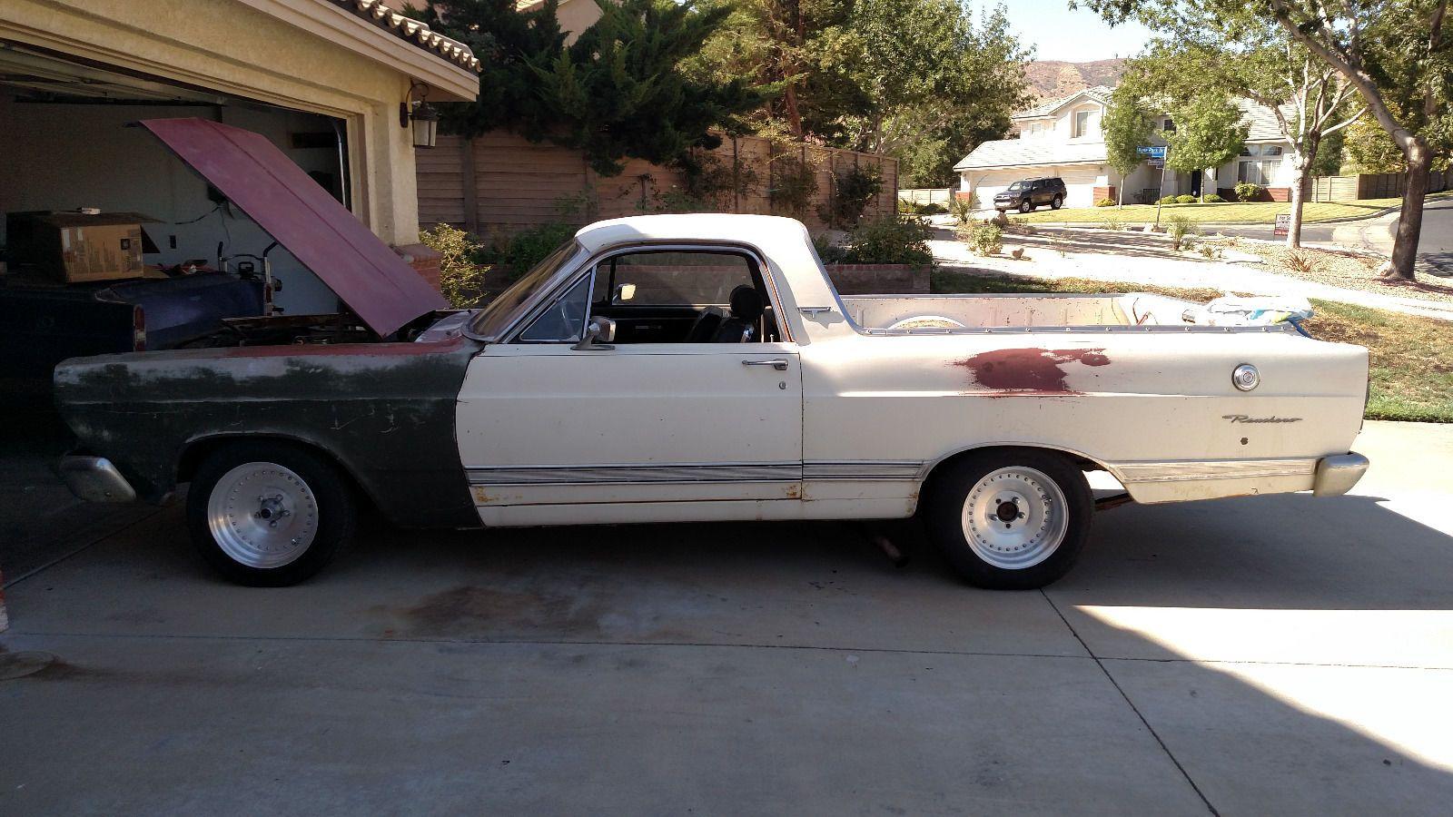 1967 ford ranchero 500xl project car
