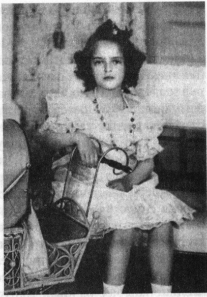 Princess Irina Alexandrovna as a child