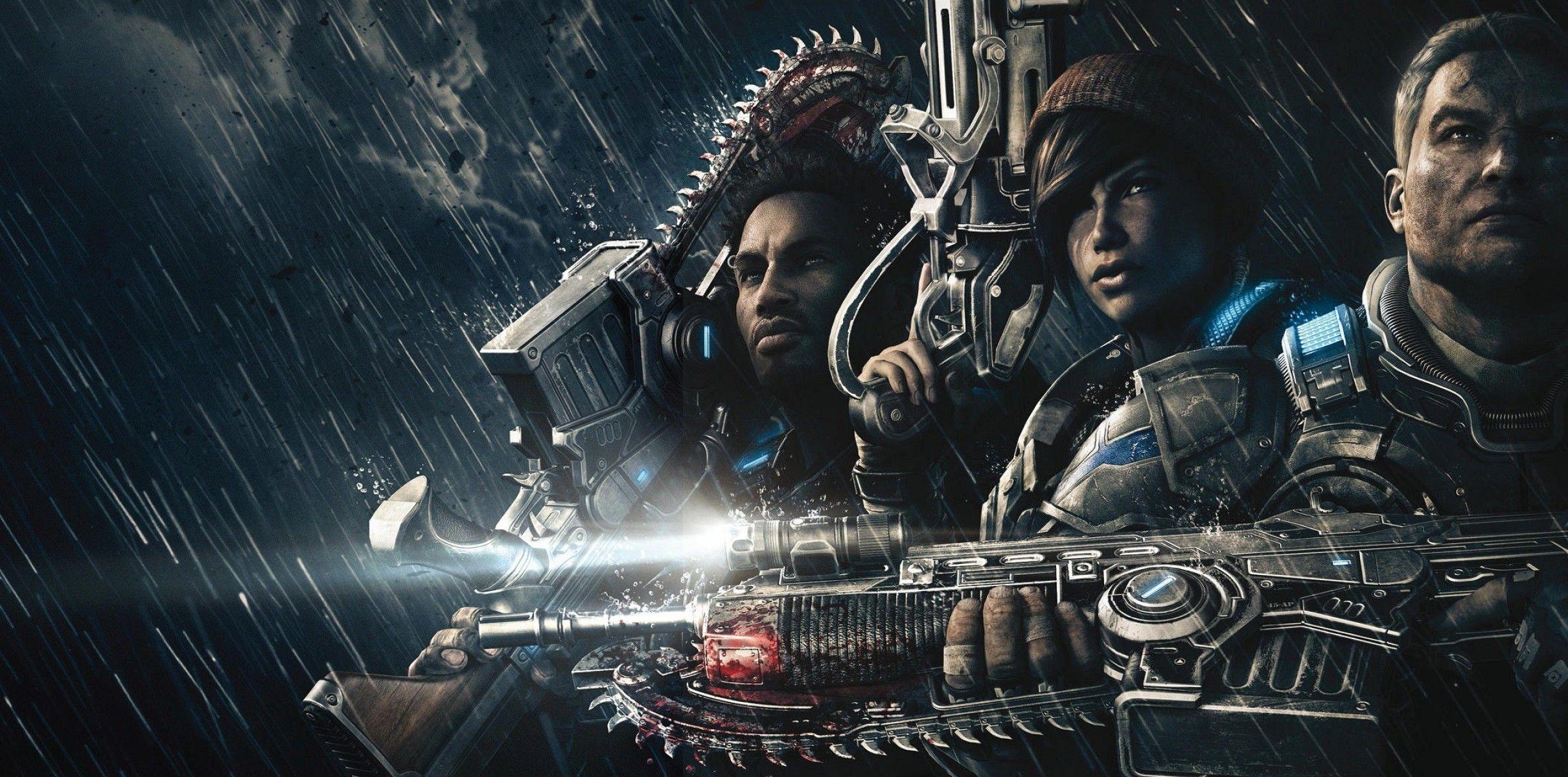Gears Of War Hd Wallpaper 76 Images Di 2020