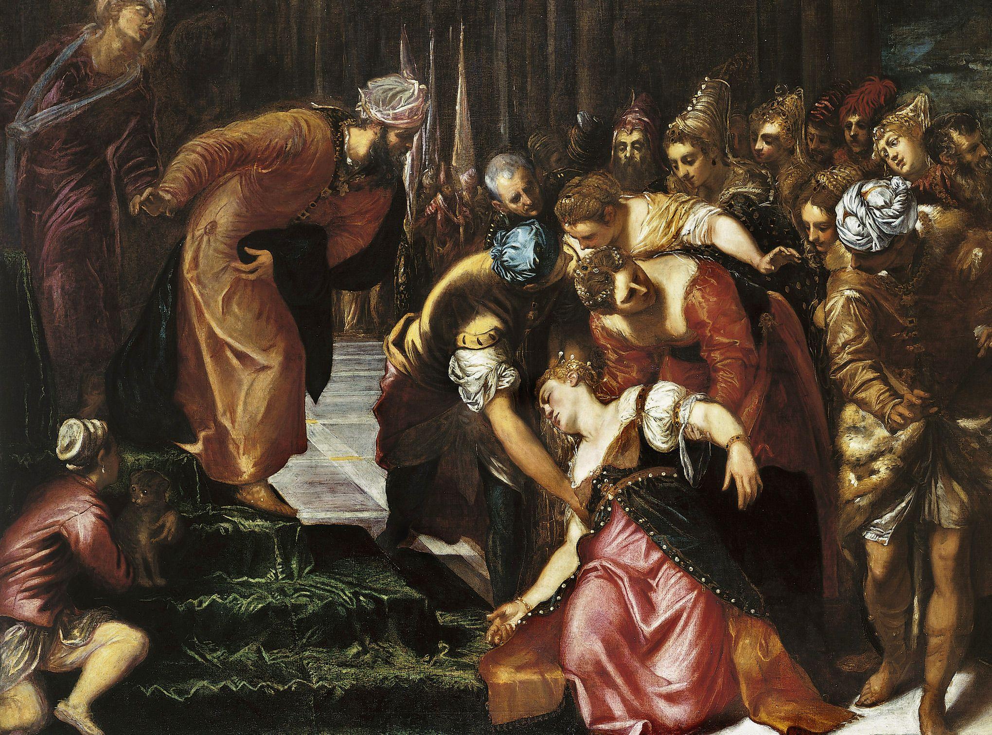 tintoretto esther u0026 assuerus art pinterest renaissance art