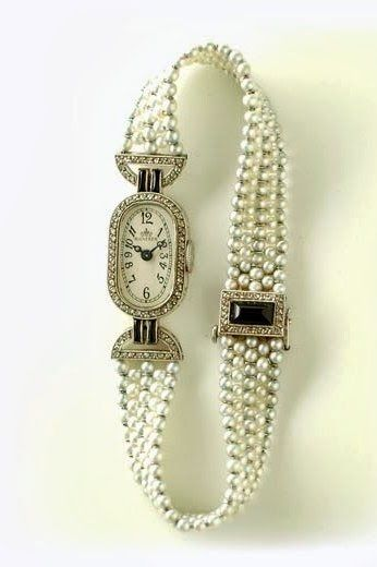 Verger Art Déco Wristwatch - 1920 - @~ Mlle