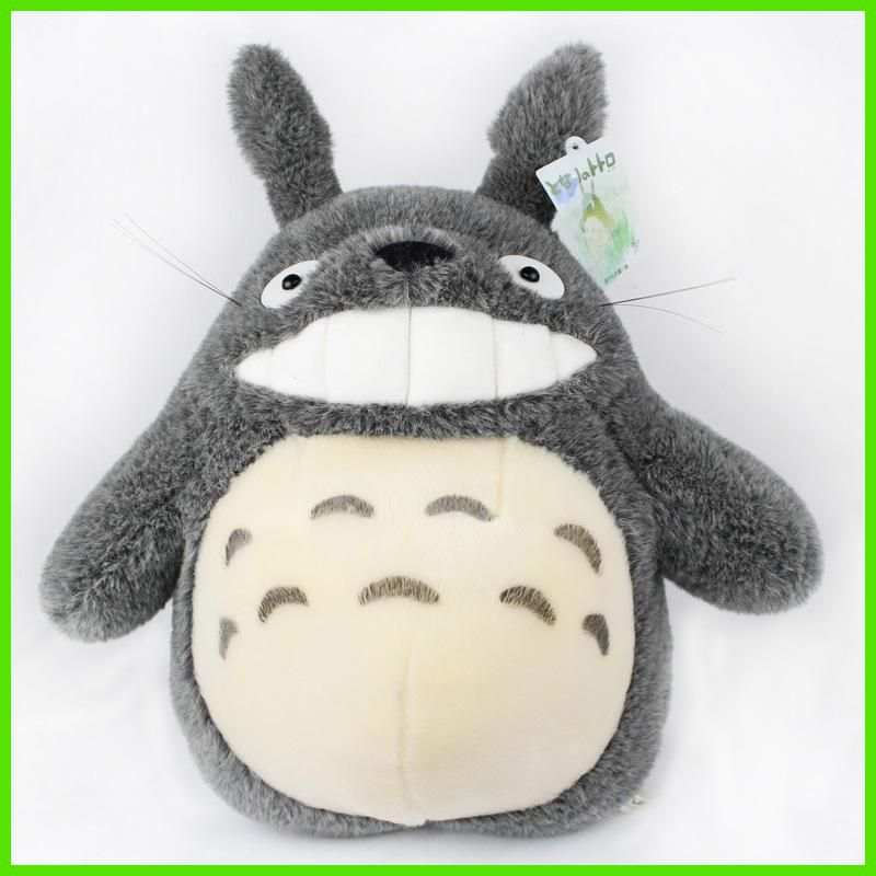 """Studio Ghibli 11"""" Grin New My Neighbor Totoro bus cat Plush Doll Toy Bared teeth and laughing out loud"""