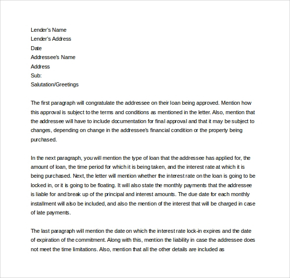 Letter Of Commitment Template Jelata With Letter Of Commitment Template
