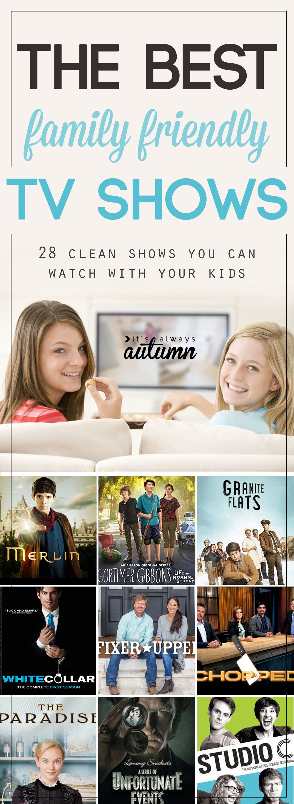 The best family friendly tv shows to watch with your kids | Crafts