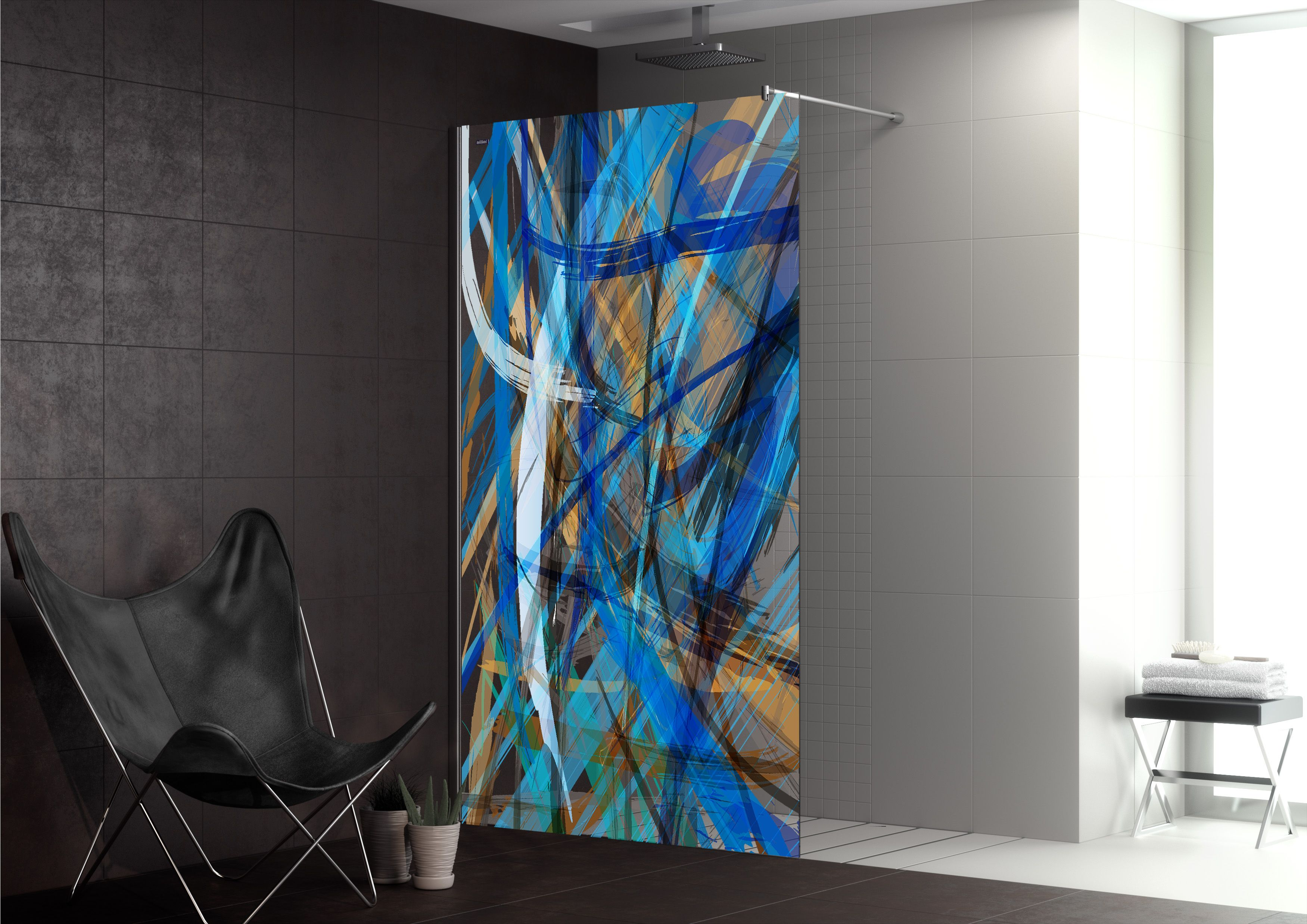 Colección Duscho Art de DUSCHOLUX #decoracion #design #bathroom shower doors